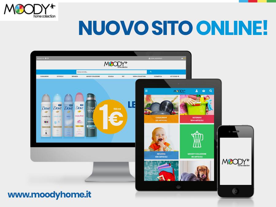 È online il nuovo sito Moody Home!