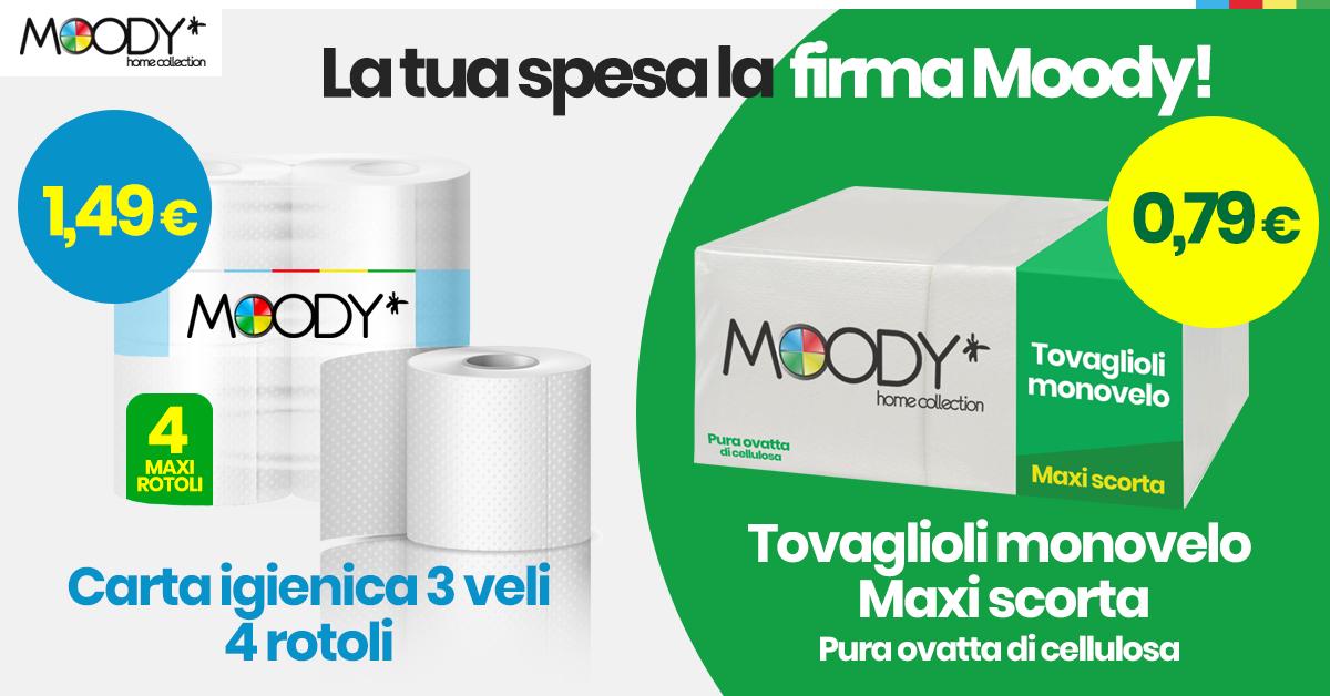 Linea prodotti a marchio Moody: scoprila!
