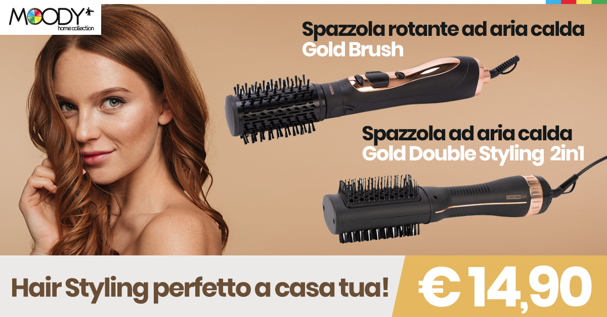 Spazzole per hair styling perfetto!